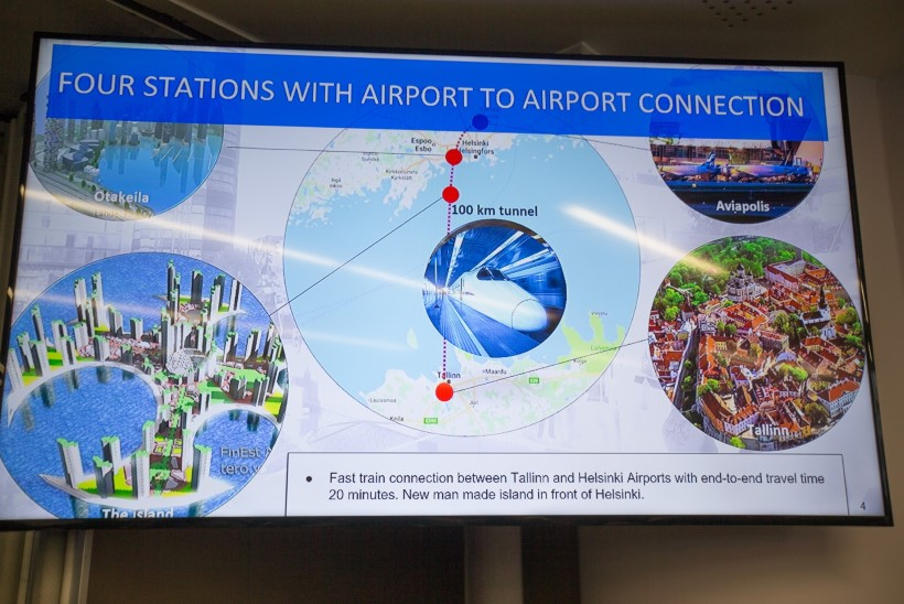 100 miljonit eurot Tallinna-Helsingi tunneli ehitamiseks tuleb Dubaist