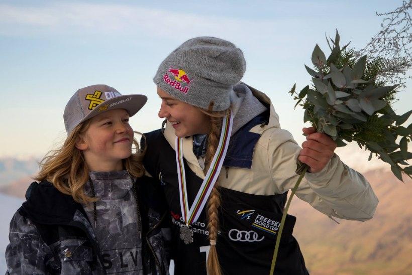 VIDEO | Mida tegi võidukas Kelly Sildaru Red Bulli peakontoris?