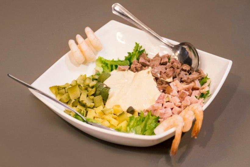 VIDEO | Kuidas Olivier´ salatist sai kodune kartulisalat