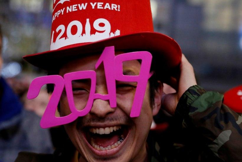 FOTOD | Vaata, kuidas on muu maailm uut aastat seni vastu võetud