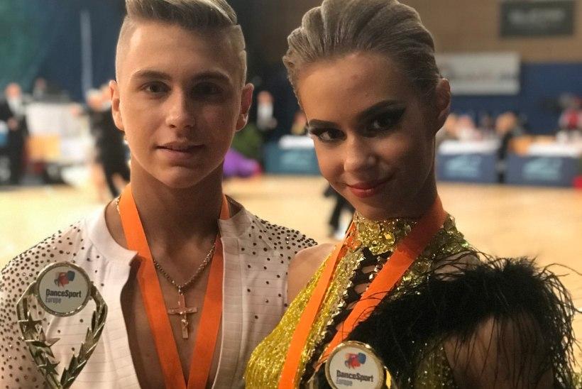 Эстонские танцоры впервые принесли стране победу на соревнованиях в Словении