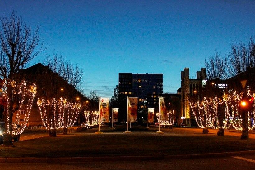 В центре Таллинна откроется рождественская аллея
