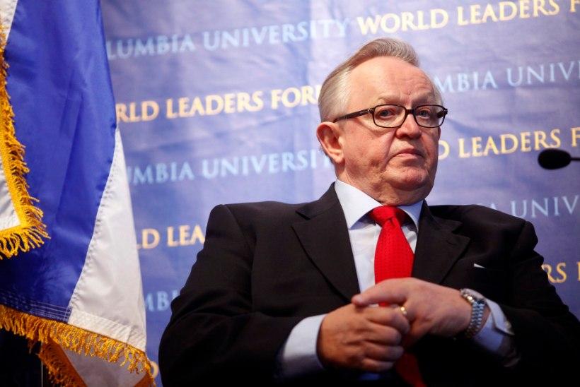 President Ahtisaari ei osale tervise tõttu Soome iseseisvuspäeva ballil