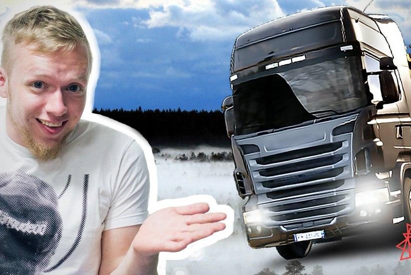 VIDEO | OHTLIK EKSPERIMENT: Ilma lubadeta Eesti (virtuaalsetel) teedel