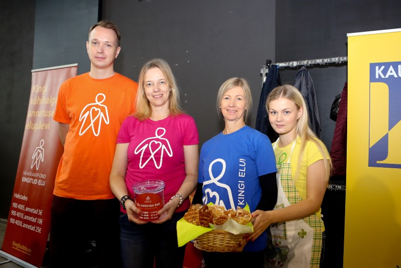 Aadu Luukase missioonipreemia pälvis vähiravifond Kingitud Elu