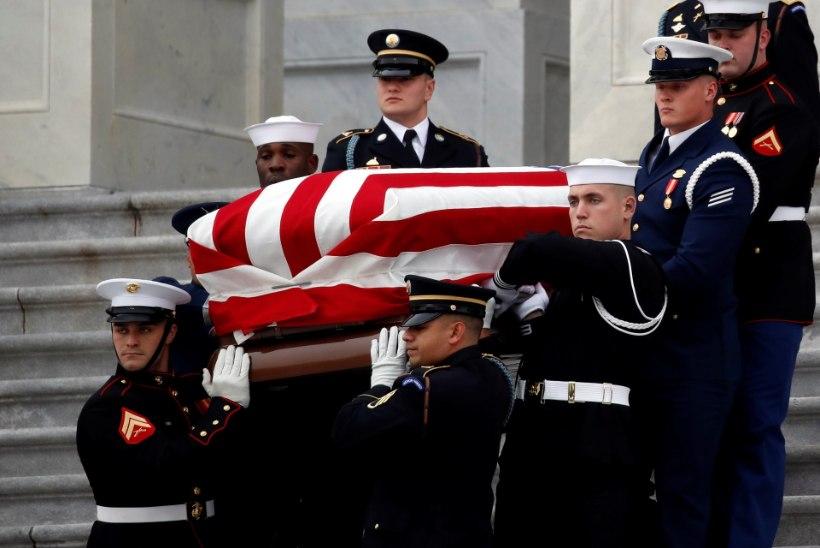 VIDEO | Maailm jätab hüvasti president George H. W. Bushiga