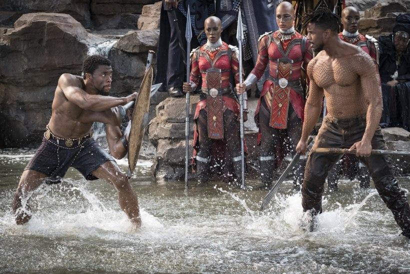 """""""Must panter"""" teeb Oscarite jagamisel ajalugu?"""