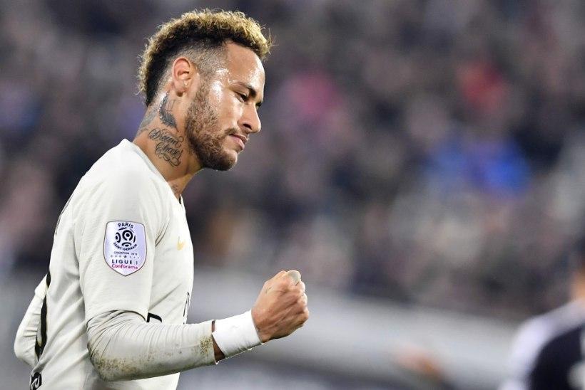 VIHJE? Neymari sõnul peab iga suurepärane pallur oma karjääri jooksul Premier League'is mängima