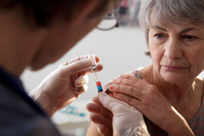LÕPUKS OMETI! Hooldekodudes elavaid inimesi hakatakse järgmisel aastal tasuta gripi vastu vaktsineerima