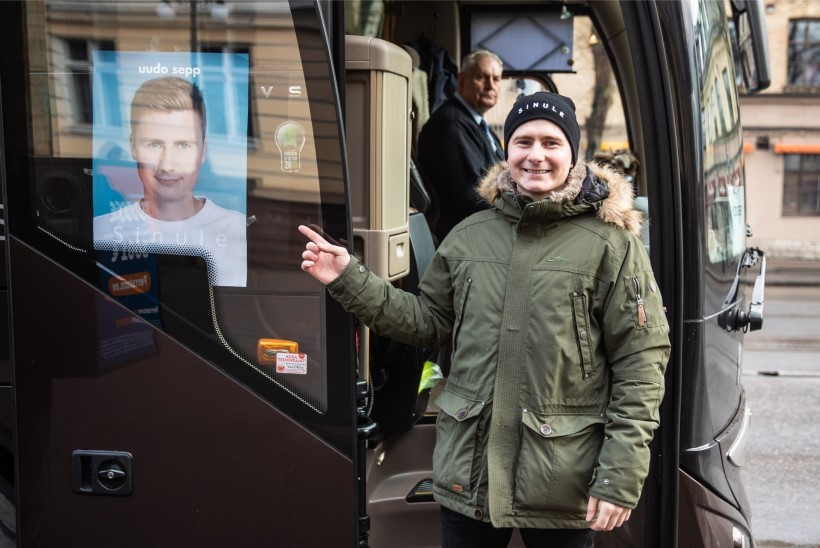 Uudo Sepp sõidutas taksoga inimesi: inimesed arvasid, et keegi teeb lolli nalja