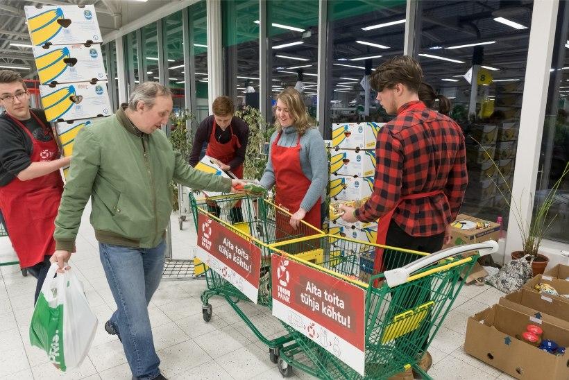 TEE HEAD: Toidupank kogub jõuluannetusi