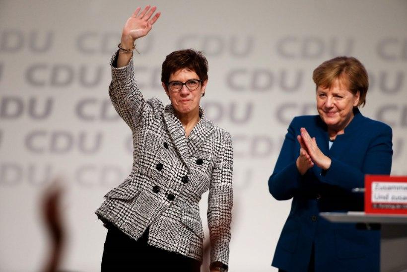 Angela Merkeli mantlipärijaks valiti Annegret Kramp-Karrenbauer