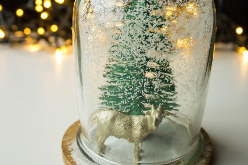 JÕULUD | Tee kingituseks jõulumaa klaaskuuli sees