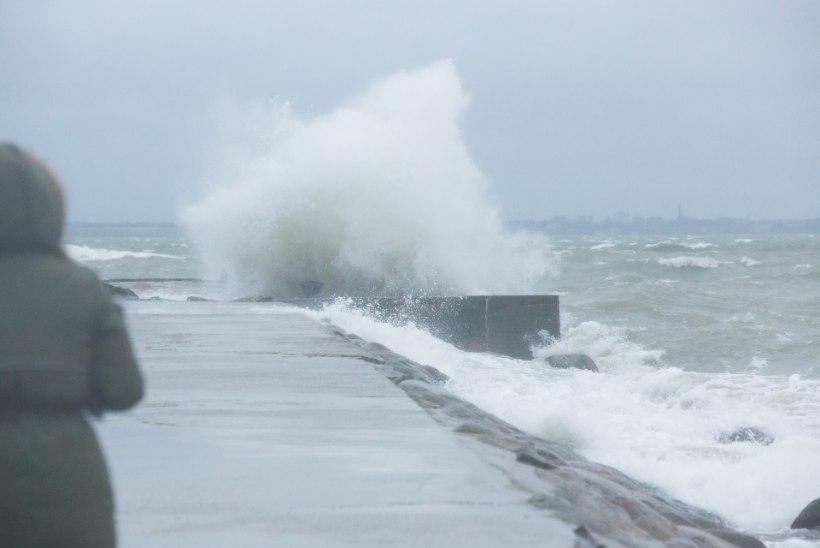 Tugev tuul häirib Kihnu laevareise