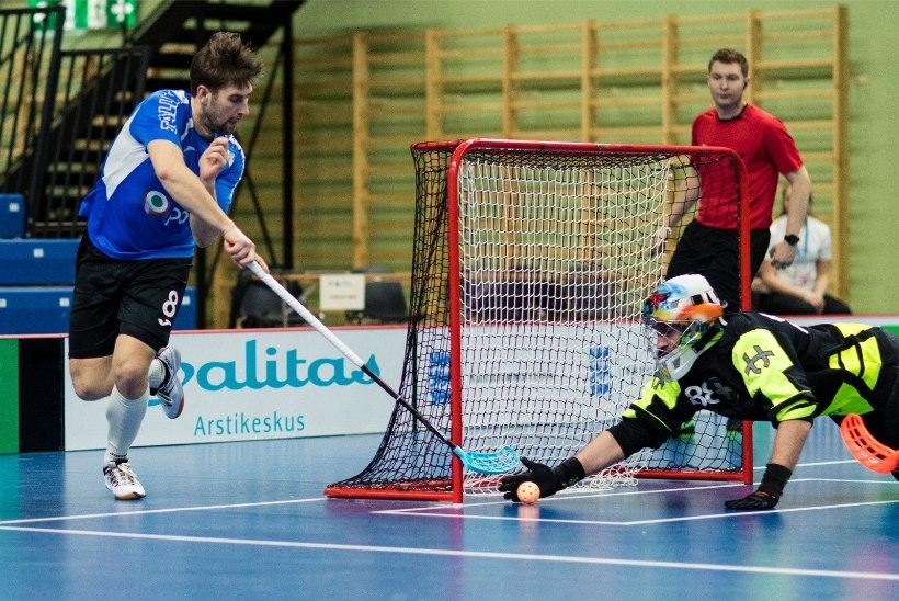 GALERII | Eesti saalihokikoondis alustas kodust turniiri võidukalt
