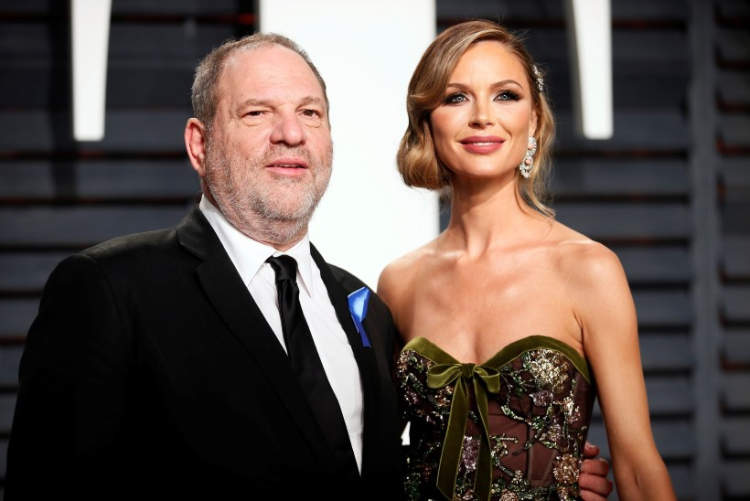 Weinsteini abikaasa otsustas moešõu ära jätta