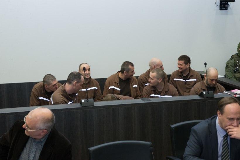 Viru vanglamässu märatsejad astusid kohtu ette