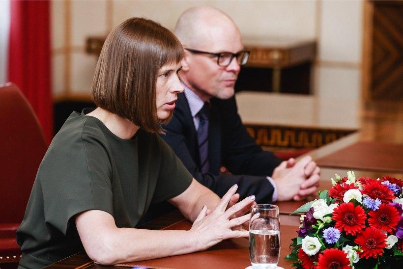 Kaljulaid tõstis presidendi kantselei direktori palga 4400 eurole