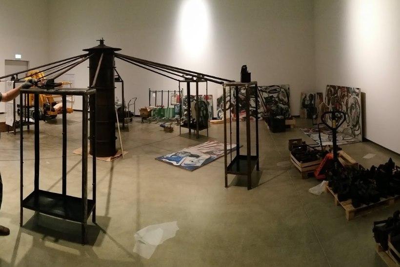 ERMis näidatakse 200 vanaaegset press- ja triikrauda