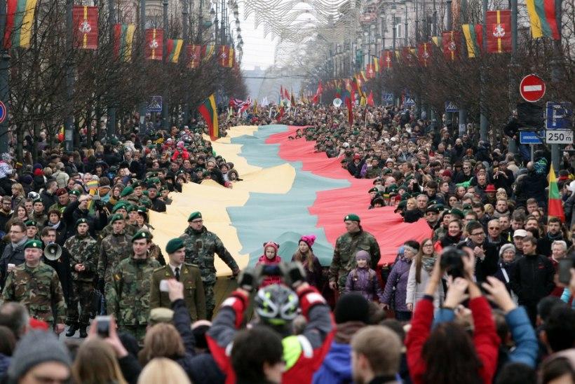 TEISTMOODI PÜHA: Leedu tähistab reedel vabariigi 100. aastapäeva suurte rahvapidustustega