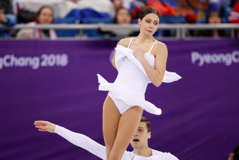 GALERII | Tallinnas sündinud ja varem Eestit esindanud iluuisutaja võitis olümpialipu all hõbemedali