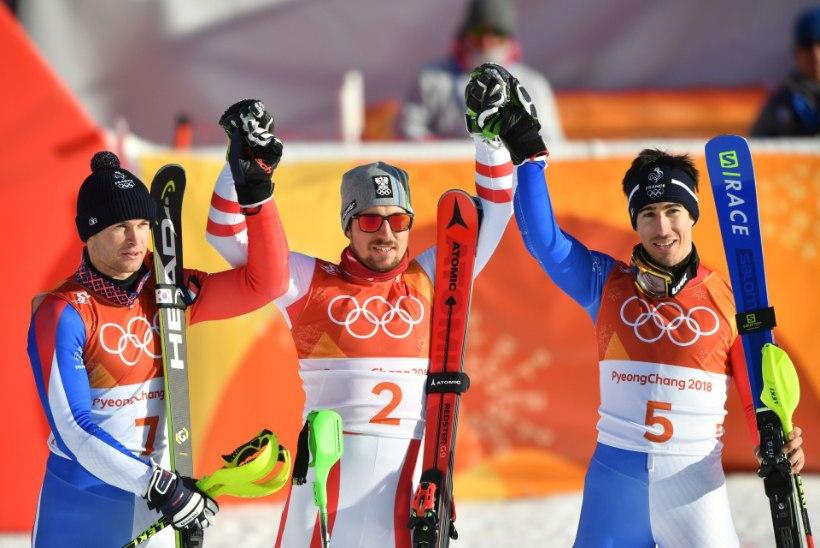 Alpi kahevõistluse kuldmedal läks Austria slaalomispetsile