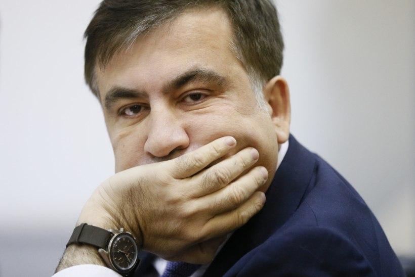 Ukrainasse naasta kavatsev Saakašvili otsib abi Merkelilt ja Euroopa Liidult