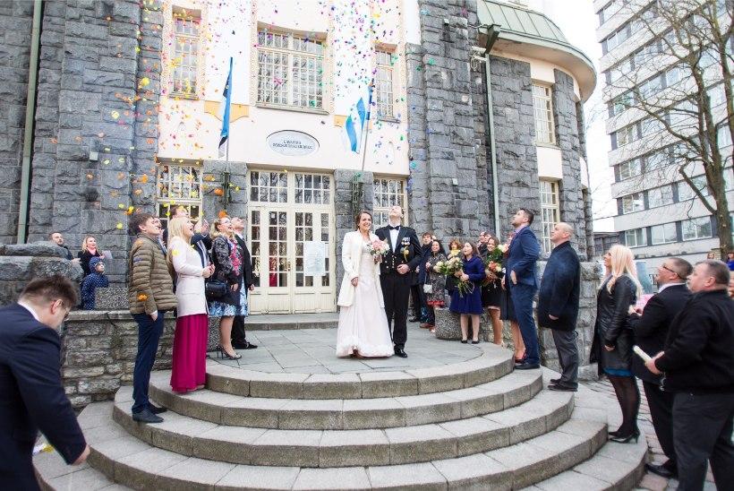 В это воскресенье в Таллиннском ЗАГСе можно забронировать время свадьбы на 08.08 и 18.08