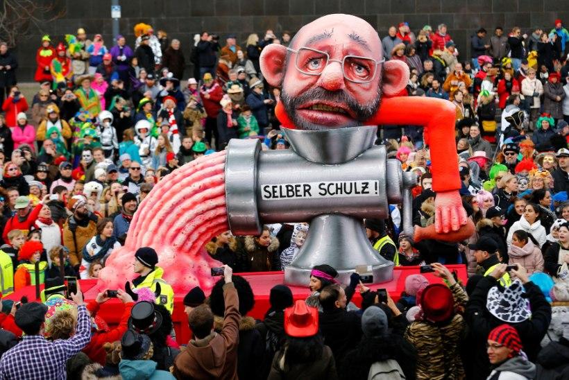 USKUMATU ALLAKÄIK: Martin Schulzist sai Saksamaa välisministri asemel hakkliha