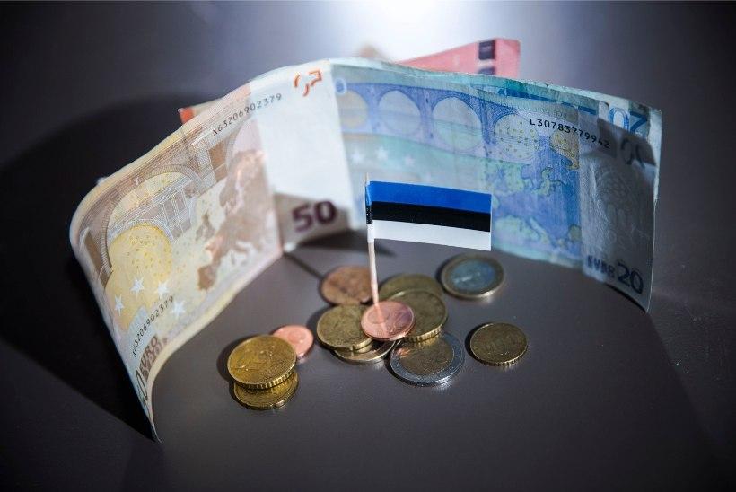 Selgus palk, mida teenis eelmisel aastal keskmine eestlane