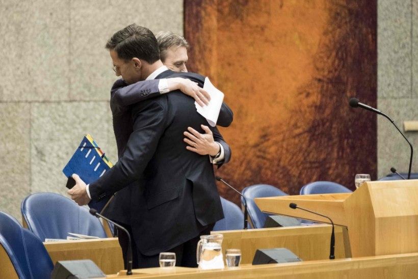 Hollandis kukkus peaministri umbusaldamine läbi