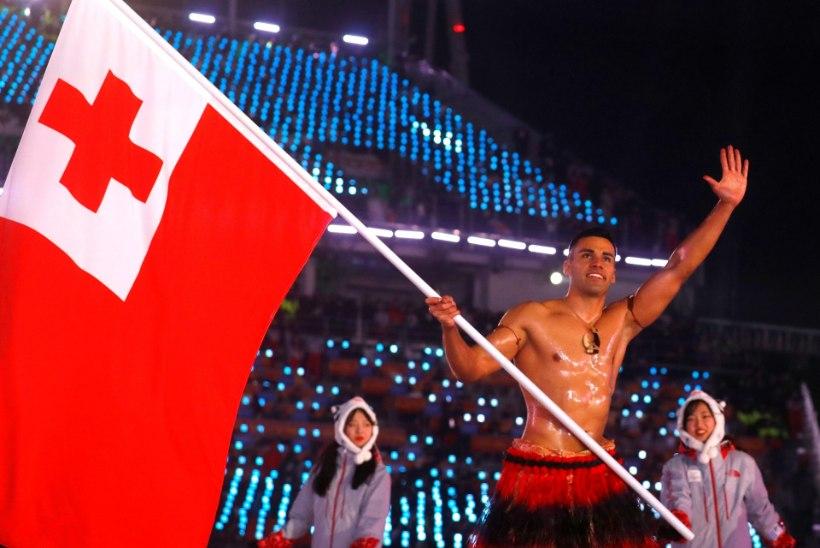 ÕL OLÜMPIAL | Tonga õline musklimees Taufatofua: tahan Pyeongchangis finišijoone ületada enne pimedat ning mitte vastu puud sõita