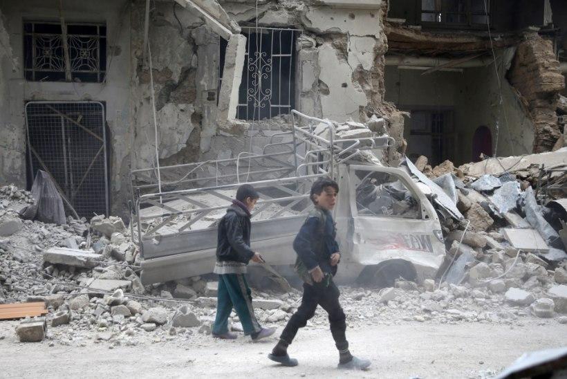 SÜNGE STATISTIKA: 357 miljonit last elab sõja tingimustes