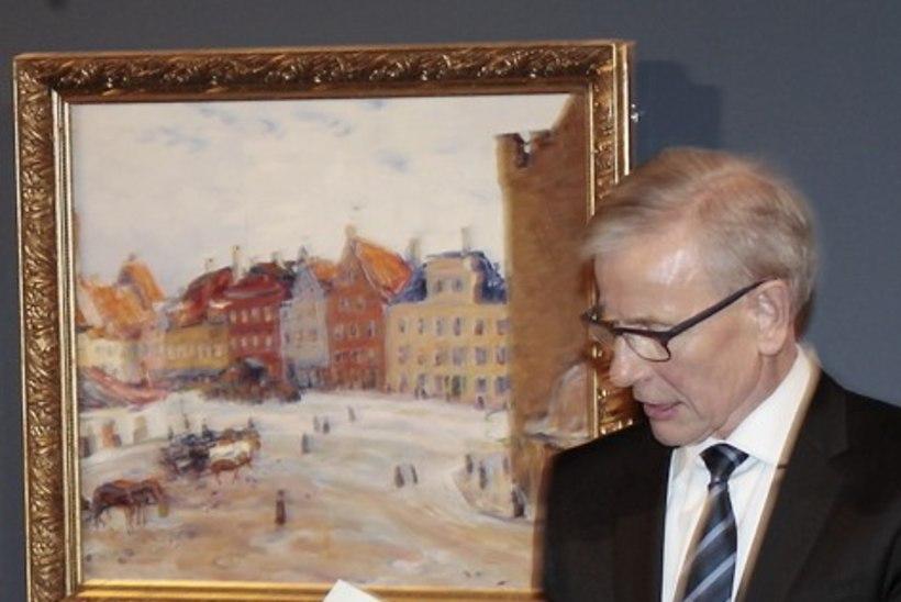 PILDID   Tallinna raekojas saab näha Eesti kunsti pärleid Enn Kunila kogust