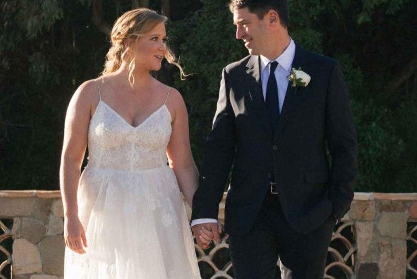Amy Schumer abiellus vaid pooleaastase kuramaaži järel!