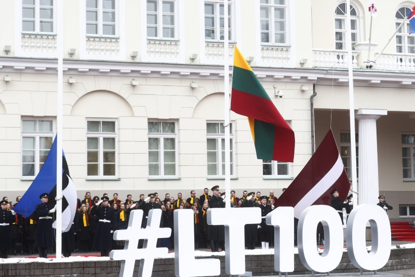 ÕL VILNIUSES | GALERII | Leedu lustib oma riikluse taastamise sajandal aastapäeval koos kogu rahvaga!