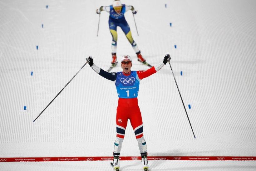 Asjatundja arvamus   Aivar Rehemaa: ei uskunud, et Björgen lõpuspurdis rootslannat edestada suudaks