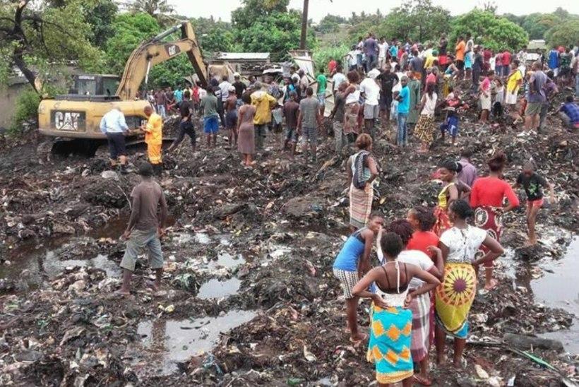 FOTOD | Mosambiigi prügivaringus hukkus 17 inimest