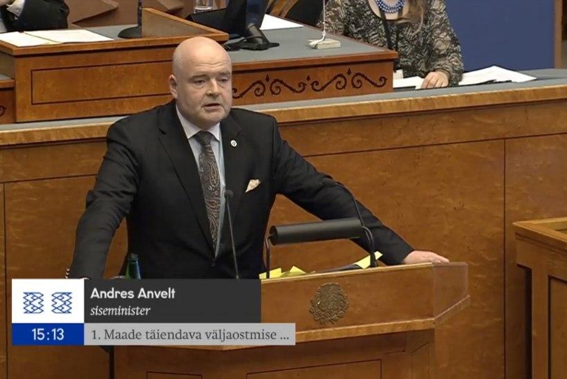 Andres Anvelt maade täiendavast väljaostmisest: omanikud mõistavad, et riigipiiri väljaehitamine on hädavajalik