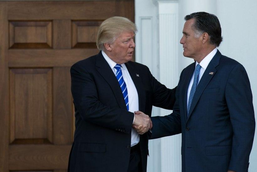 Trump andis Romneyle oma õnnistuse