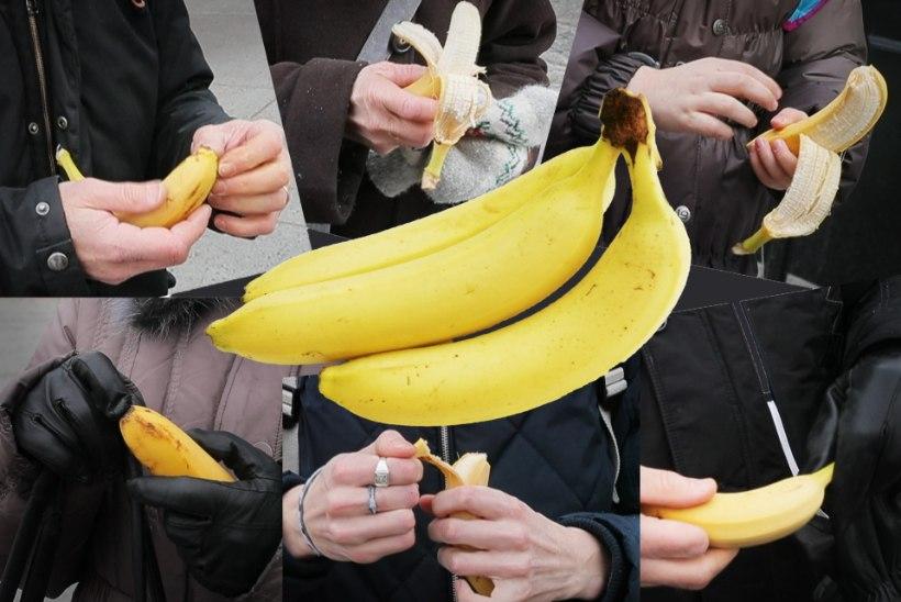 SUUR ANALÜÜS: kuidas avada banaane ja teisi keerulisi vilju?