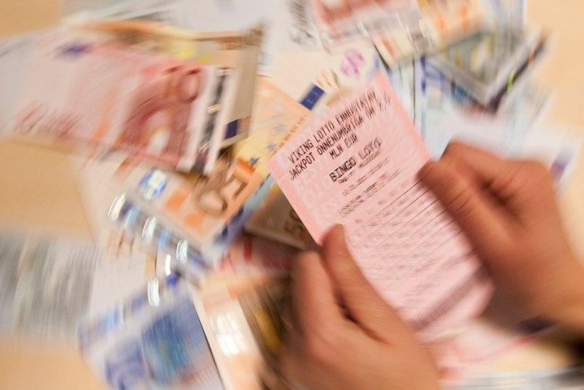 Õnnelik lotomängija võitis Bingo lotoga 385 424 eurot