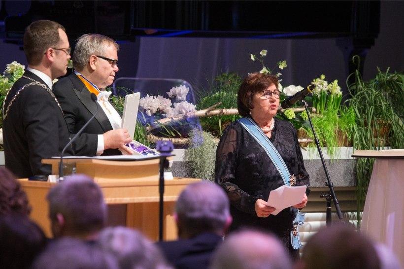 GALERII | Tartu tunnustas aukodanikke ja kuulas peaministrit