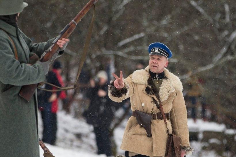 EV100 | POMMID, KAHURID, KUULIPRITSID: 24. veebruaril saab näha Vabadussõja lahingu taaslavastust