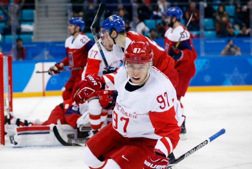 27 sekundit, mis Venemaa hokikoondise olümpiafinaali aitasid!