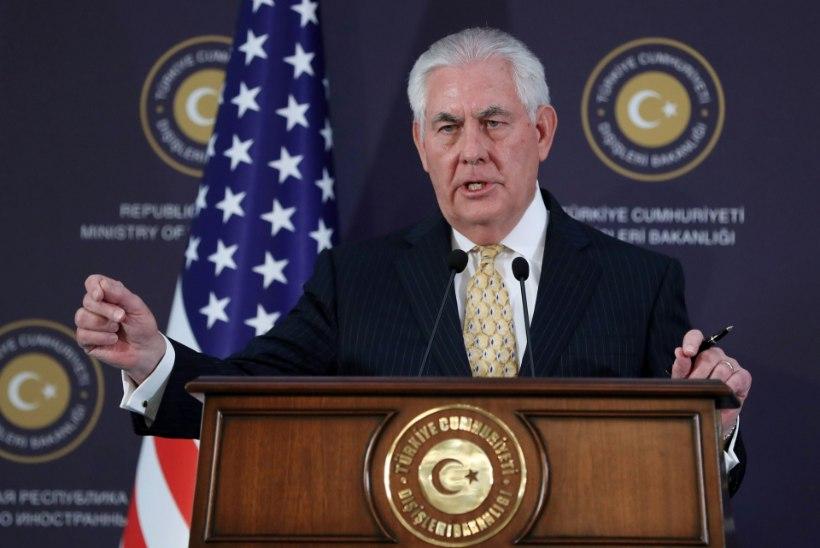 USA riigisekretär Rex Tillerson õnnitleb Eestit: meie suhe on tugevam kui eales varem