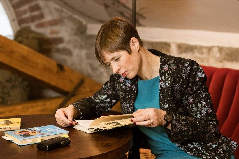 FOTOD   MAITSEKAS VALIK! President Kaljulaidist on saanud agar kõrvarõngaste kandja