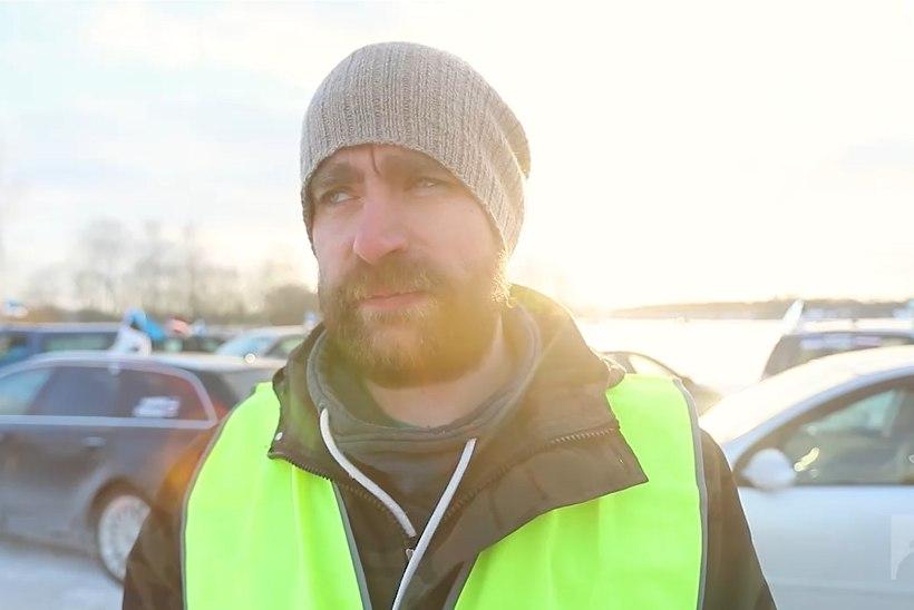 """VIDEO: """"Maksud Lätti"""" korraldaja Taavi Leppik: minu soov on panna valitsus mõtlema"""