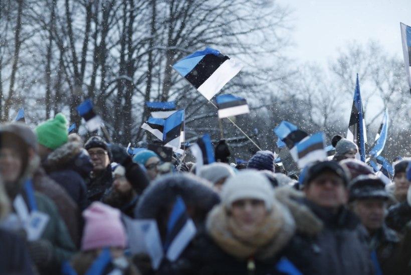 Peapiiskop Viilma lipu heiskamisel: Eesti lipu lehvimine täna on kõigi aegade parim pidupäevakõne!
