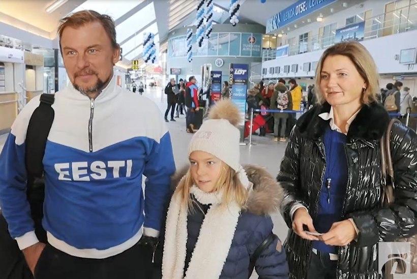 Õhtuleht lennujaamas: Itaaliasse sõitnud eestlased pakkisid pidupäevaks kaasa kilud